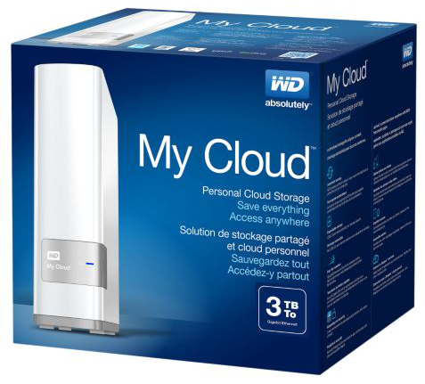 WD's 'personal cloud'